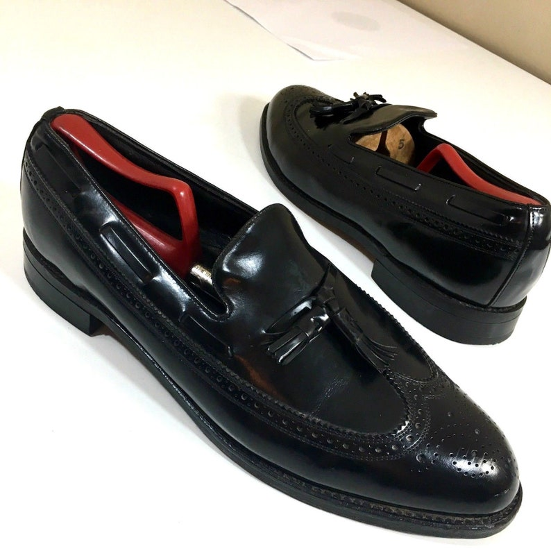 589ba14fa315c D Vintage Florsheim Signature Collection Men s Black