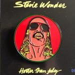 Stevie Wonder - Soft Enamel Pin