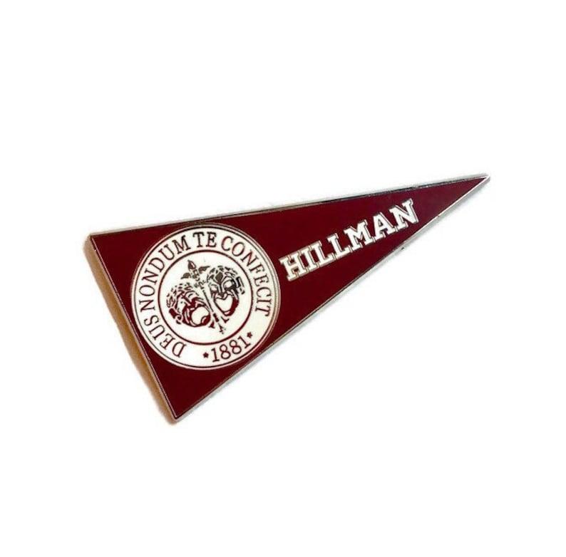 Hillman  Hard Enamel Pin image 0