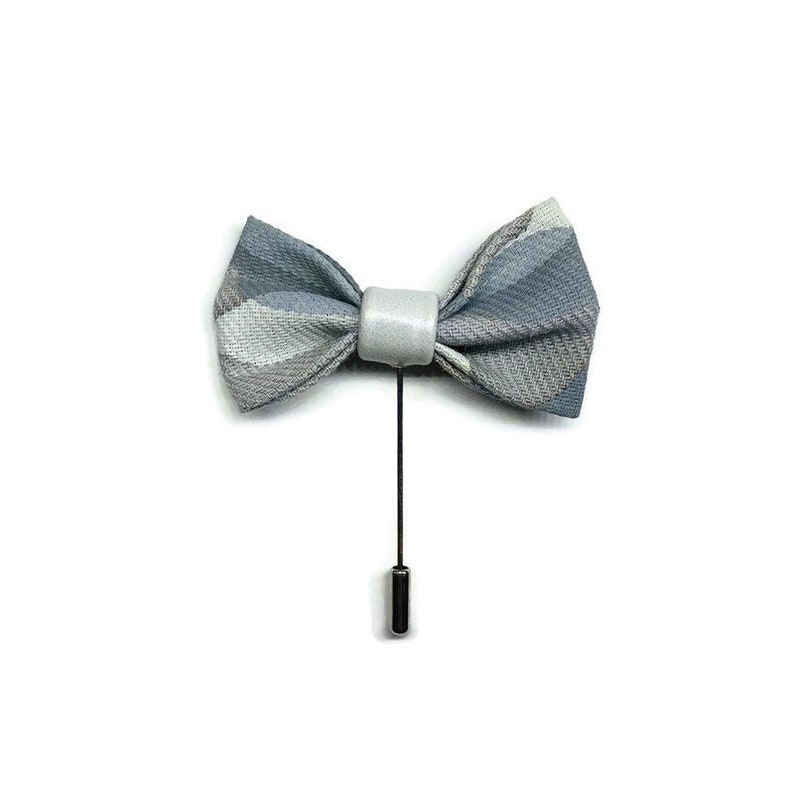 Bow Tie Boutonniere Lapel Pin image 0