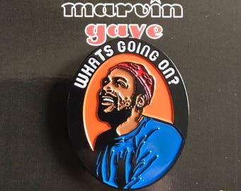Marvin Gaye - Soft Enamel Pin