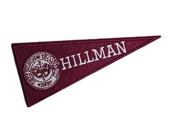 Hillman Embroidered Patch