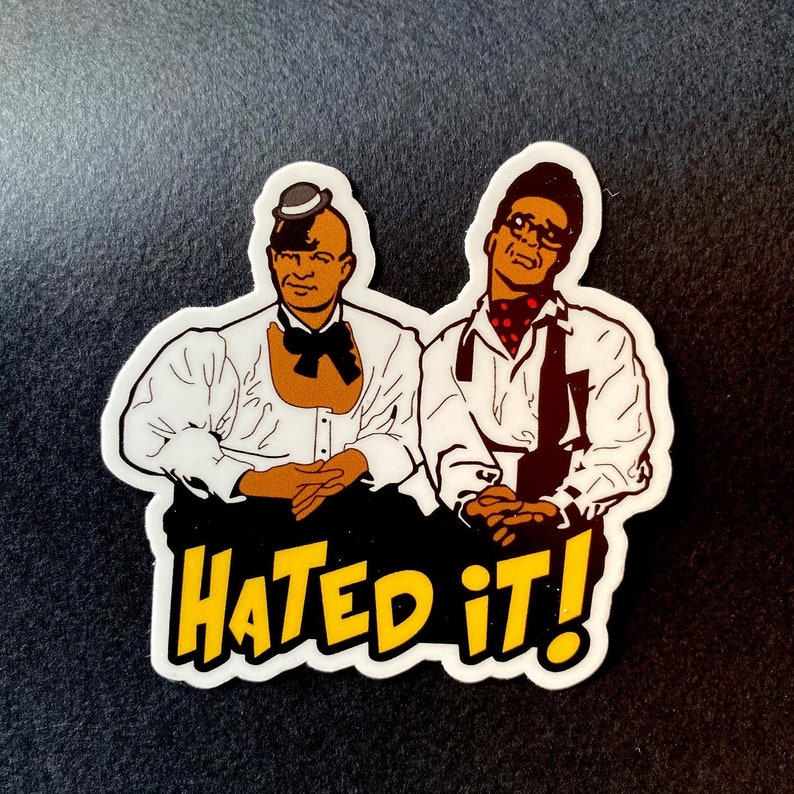 HATED IT   3 Vinyl Sticker/Laptop Decal image 0
