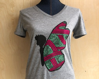 Black Butterfly Eco T-Shirt