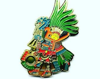 Huitzilopochtli Soft Enamel Pin