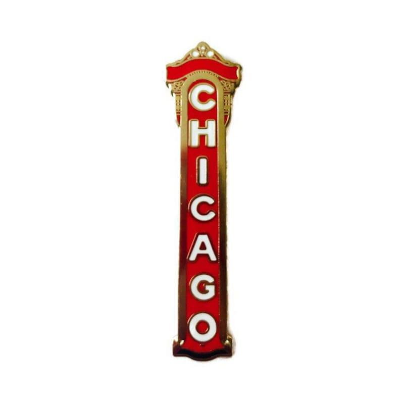 Chicago  Hard Enamel Pin image 0