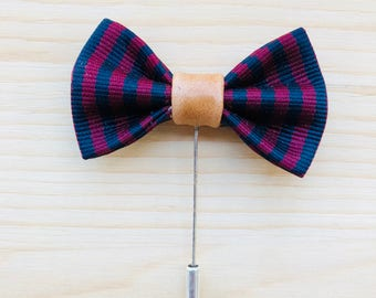 Bow Tie Boutonniere Lapel Pin