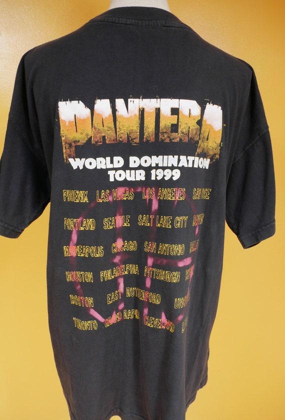 Pantera World Domination Tour 1999 T Shirt - image 9