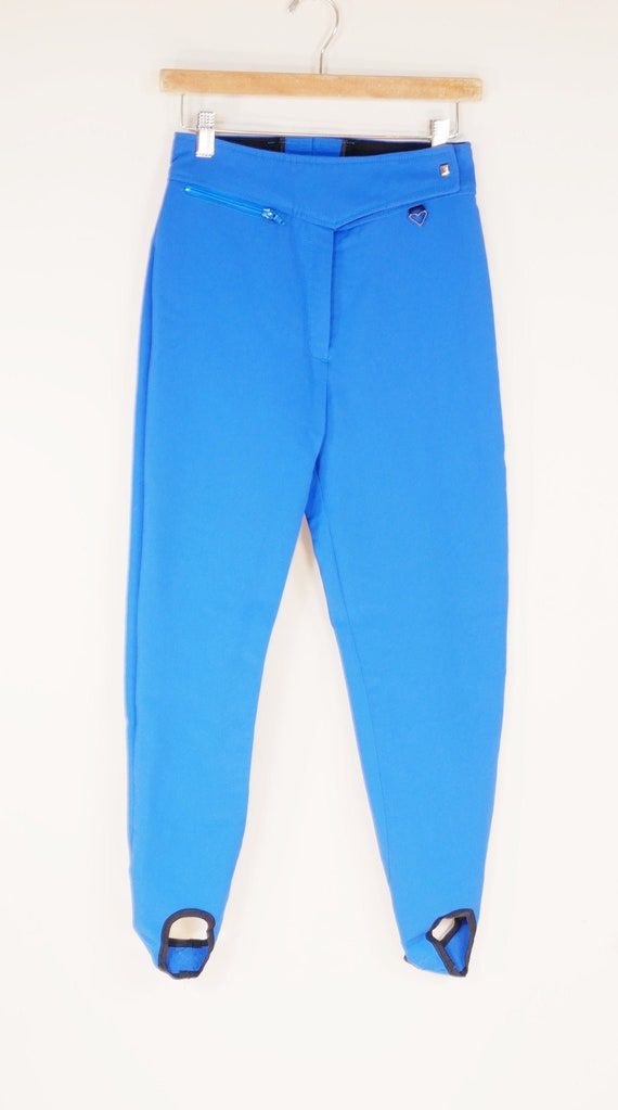 Azure Blue Obermeyer Stirrup Ski Pants