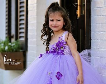 46a2ae55575 Lavender Tutu Dress  Flower Girl