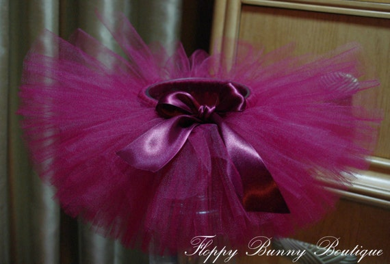 64b25e8f2d Burgundy Tutu Skirt: Girls Tutu, Birthday Tutu, Wedding Tutu, Flower Girl  Tutu, Newborn Tutu, Easter