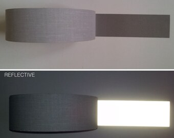 Reflective tape etsy reflective tape ribbon sew on width 1 25 mm promo price reflection silver aloadofball Gallery