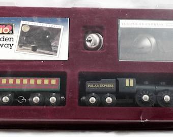 Polar Express BRIO WOOD TRAIN Original Box Vintage
