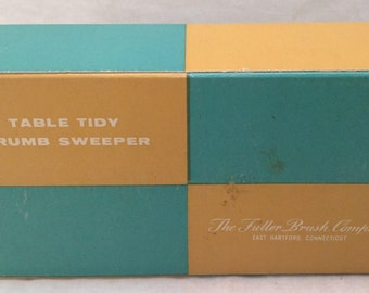 Fuller Brush Table Tidy Crumb Sweeper Vintage with Box, EUC