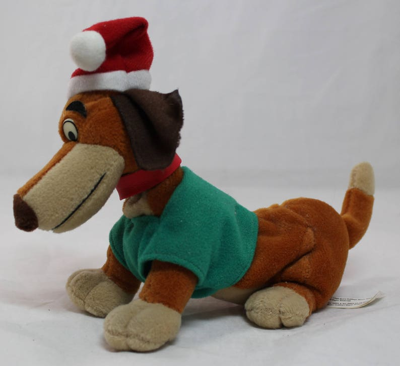 All Dogs Christmas Carol Itchy Itchiford 8 Plush Dachshund Best Offer