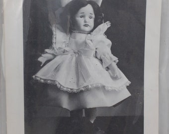 "Shirley Augustine Doll Clothing Pattern GRETCHEN Mini-Maid (KR114) 8"" SA-75"