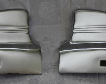 1941 Chevy Front Fender Guards Wrap Arounds GM Accessory pair tips