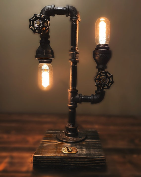 Limited Offer Diy Pipe Lamp Kit Steampunk Lamp Steampunk Decor Diy Lighting