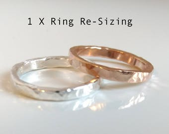 1 X Sizing Ring Re-Sizing ClearWater Designs by Kim Shimizu