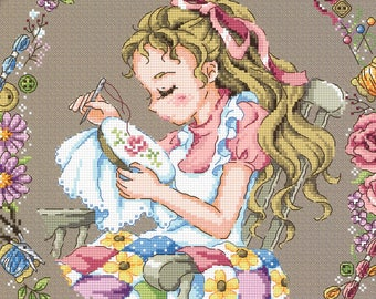 A Time For Myself - SO-G119 - Cross Stitch Pattern Leaflet SODA Stitch - Modern Cross Stitch Chart - Cross Stitcher Girl - Embroiderer