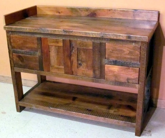 Minnesota Reclaimed Wood Bathroom Vanity - Discount bathroom vanities mn