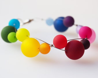 rainbow bracelet colorful polaris bracelet