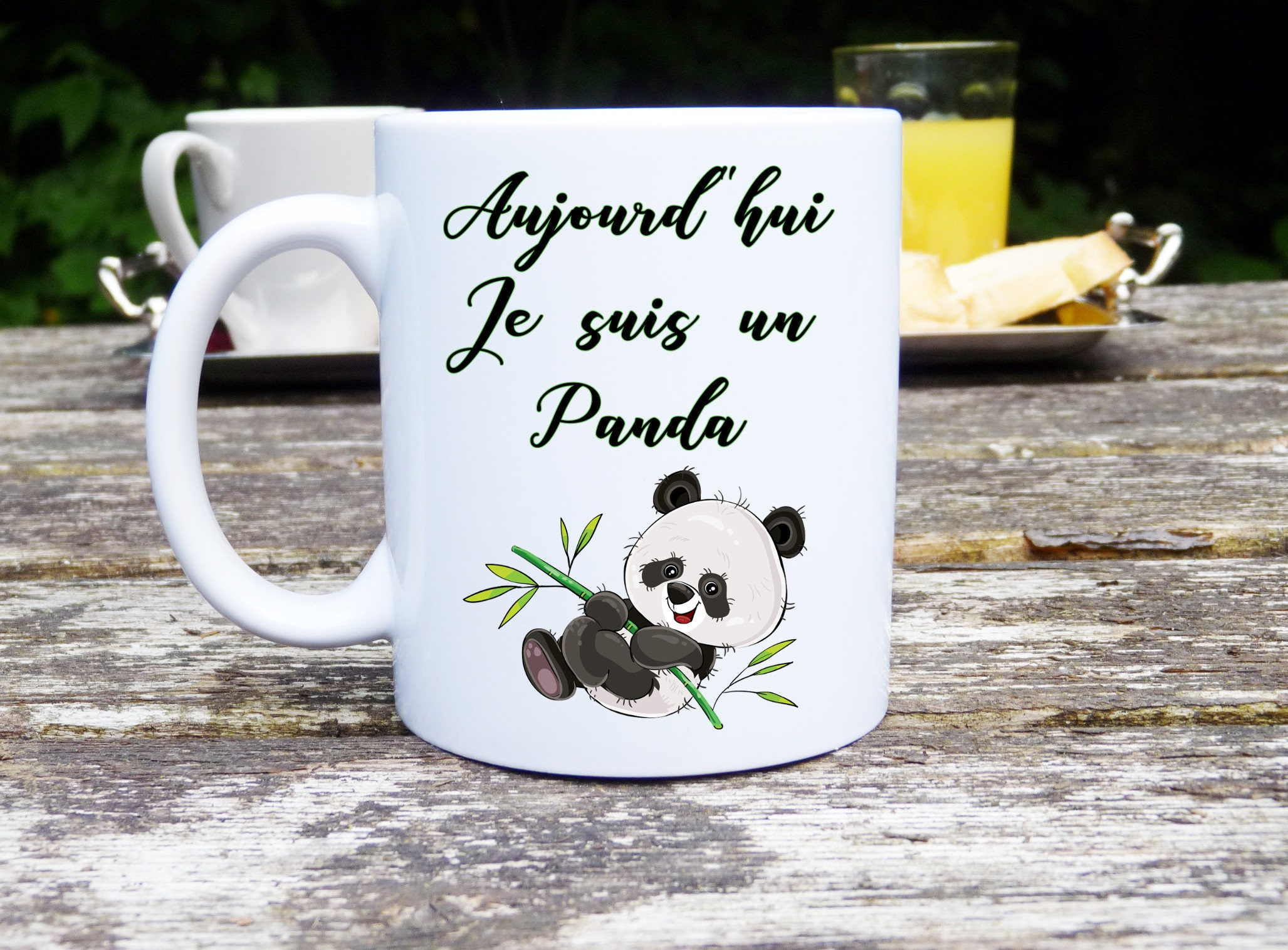 Mug with custom, Mug, Panda, original and customizable Mug gift ...