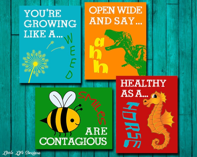 Doctor S Office Decor Pediatrician Wall Art School Nurse Etsy