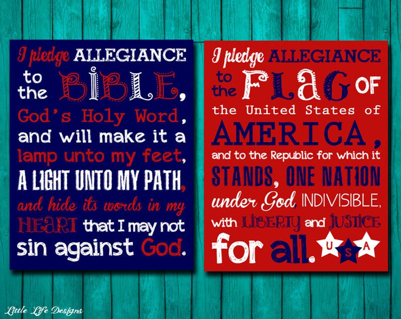 photograph regarding Pledge to the Bible Printable called Pledge of Allegiance Pledge in the direction of the Bible. Christian Clroom Decor. Clroom Indications. Christian College Decor. Homeschool Decor. 2 Pledges!