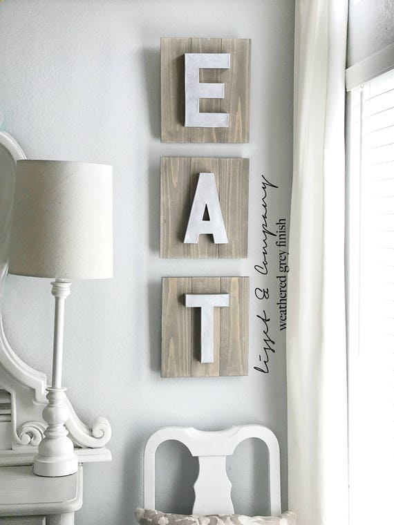 Delicieux Eat Sign Kitchen Sign Wood Sign Rustic Eat Sign Eat | Etsy