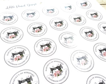 Logo Business Stickers, Logo Stickers, Custom Stickers and Labels, perfect for Branding, Packaging stickers available on Gloss or Matt Paper