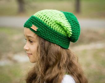 St Patrick s Day Slouch Beanie - St Paddy s Day Slouchy Hat - Child Winter  Hat- Kids Winter Hat - Kid Beanie - Toddler Beanie -Kids Toboggan 836454da404