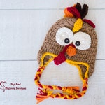 Turkey Hat - Turkey Trot Hat - Child Turkey Hat - Toddler Turkey Hat - Teen Turkey Hat - Adult Turkey Hat - Thanksgiving Hat - Fall Hat