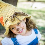 Scarecrow Hat - Toddler Scarecrow Hat - Child Scarecrow Hat - Scarecrow Costume - Halloween Costume - Wizard of Oz - Adult Scarecrow Hat
