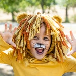 Toddler Lion Costume - Kids Costume - Baby Boy Halloween Costume - Lion Bonnet - Halloween Costume Ideas