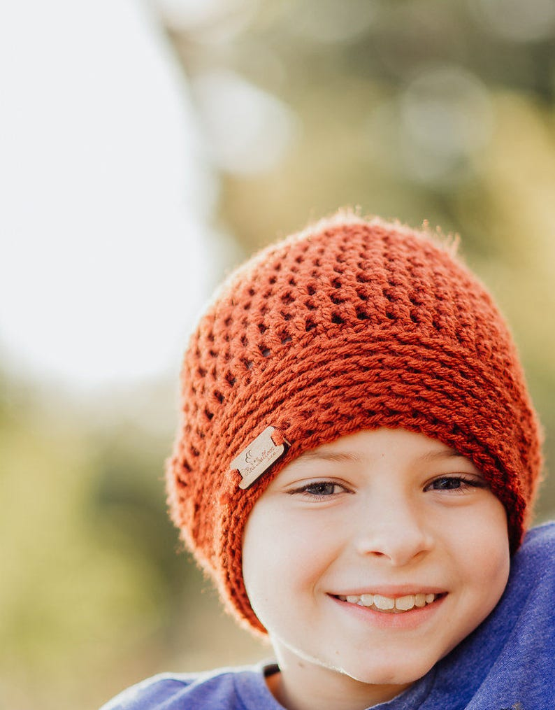 Child Winter Hat  Slouchy Hat  Kids Winter Hat  Kids Fall image 0