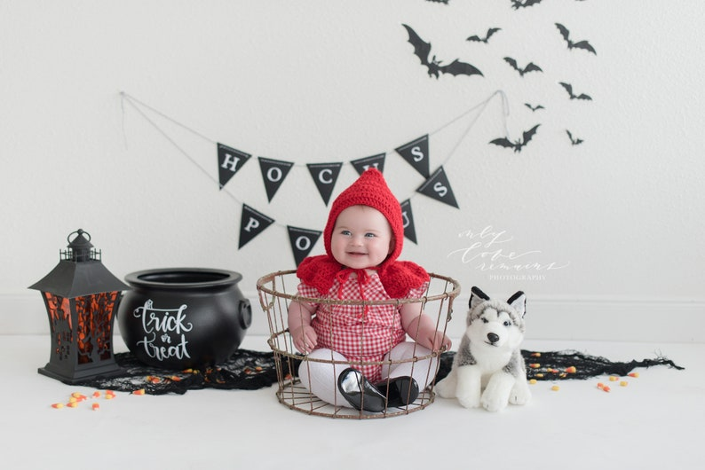 Little Red Riding Hood  Baby's First Halloween  Red image 0