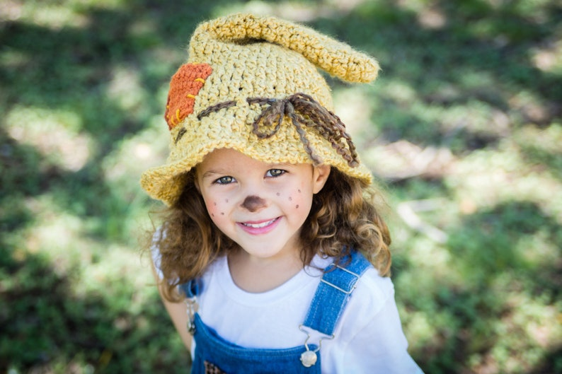 Scarecrow Hat  Toddler Scarecrow Hat  Child Scarecrow Hat  image 0