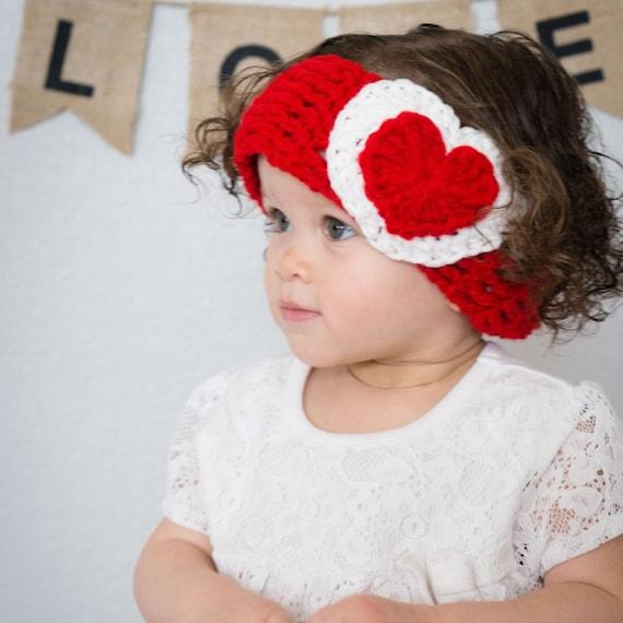 Día de San Valentín diadema diadema de corazón día de San | Etsy