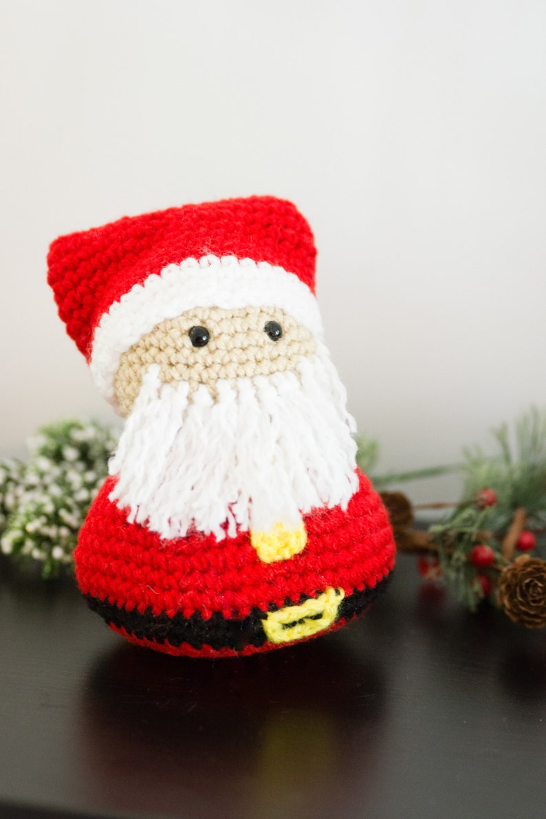 Santa Claus Decor  Santa Clause Doll  Christmas Mantle image 0
