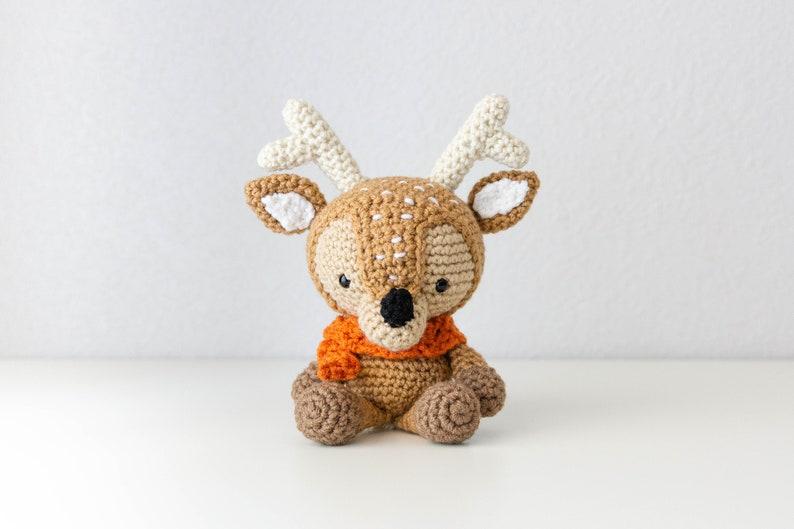 Deer Plush  Baby Boy Gift  Deer Softie  Christmas Deer  image 0