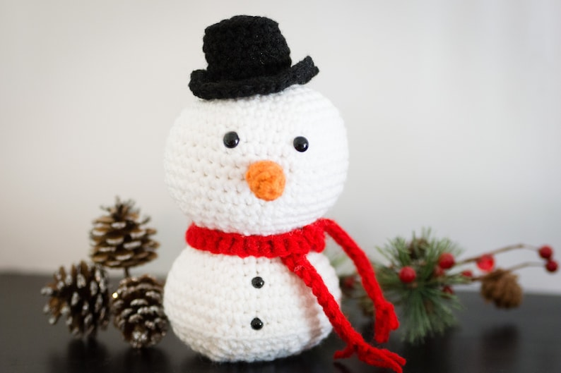 Snowman Decor  Snowman Doll  Christmas Mantle Decorations  image 0