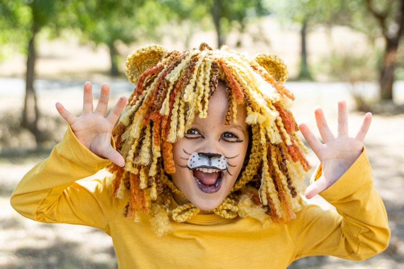 Toddler Lion Costume  Kids Costume  Baby Boy Halloween image 0