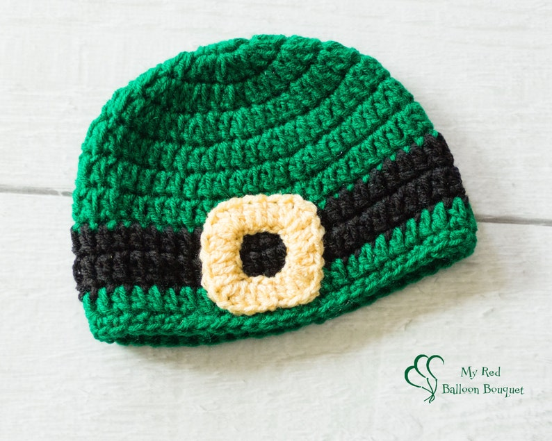 St. Patrick's Day Hat  Leprecaun Hat  Crochet St. image 0