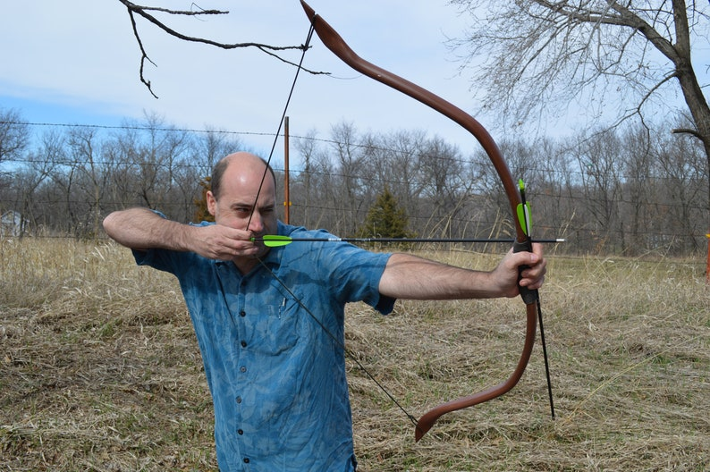Archery  Bow PVC  Recurve Real Bow for Ren Faire Amtgard image 0