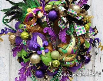 Mardi Gras Decor Etsy