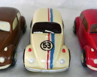 Hand-made Belgian Chocolate VW Beetle Car