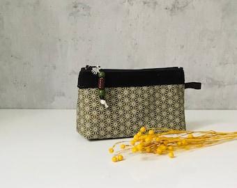 Miki Star - Mini Cosmetic Bag olive