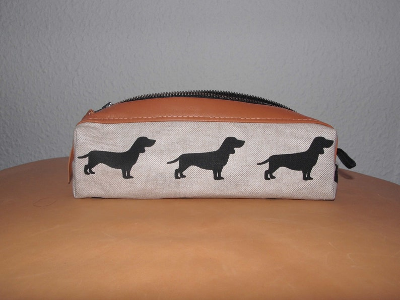 Feather pencil doggy cottonLeather