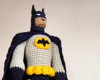 AMIGURUMI PATTERN for super hero doll, crochet amigurumi pattern, amigurumi tutorial, crochet doll PDF pattern to print, digital download